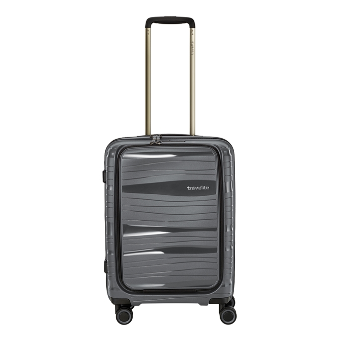 Travelite Motion 4w Trolley S Frontpocket anthracite - 1