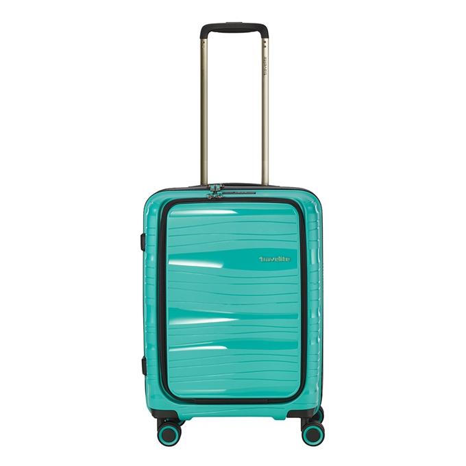 Travelite Motion 4w Trolley S Frontpocket mint - 1