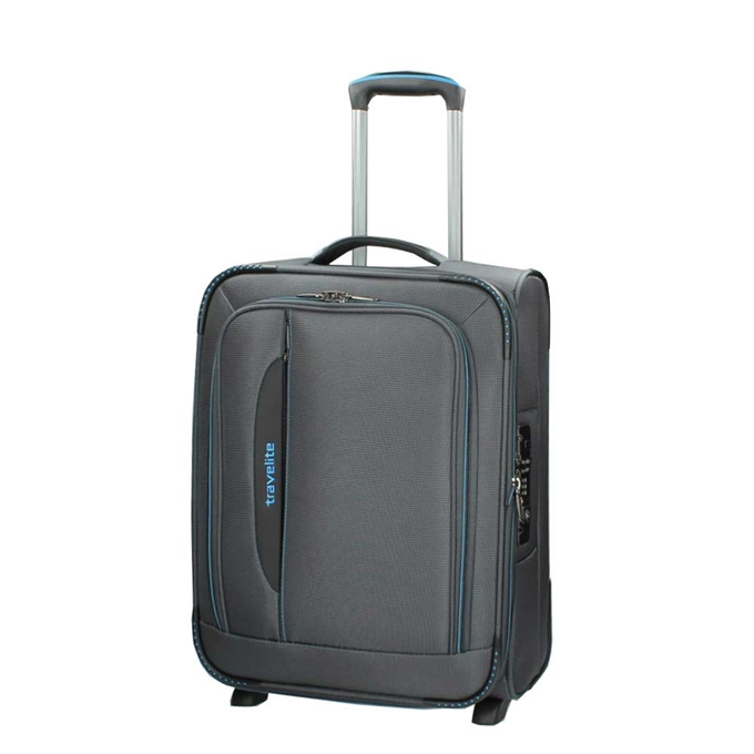 Travelite Crosslite 2 Wiel Trolley S Expandable anthracite - 1