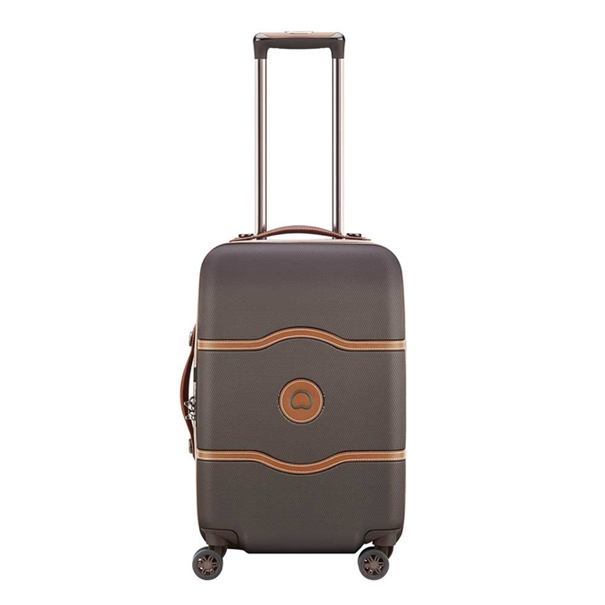 Delsey Chatelet Air 4 Wheel Trolley 55 chocolate - 1