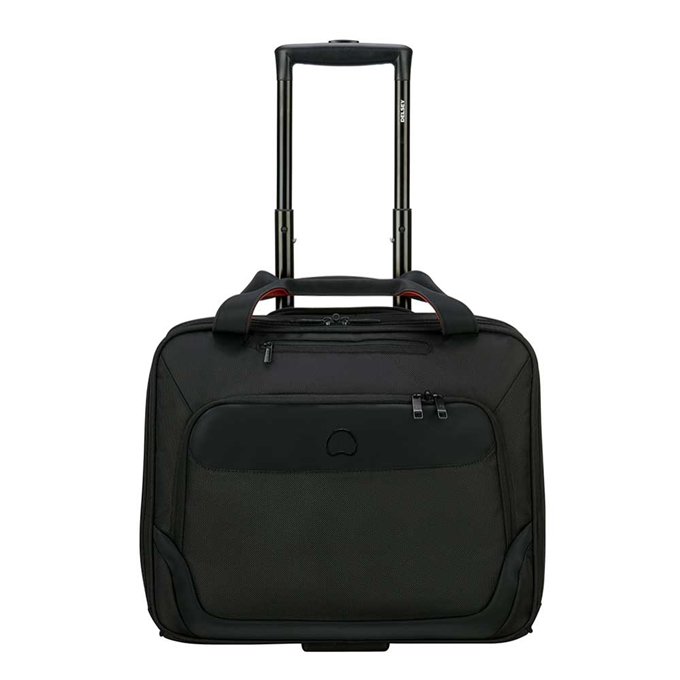 "Delsey Parvis One Compartment Trolley Boardcase 15.6"" black - 1"