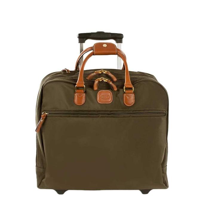 Bric's X-Travel Pilotcase olive
