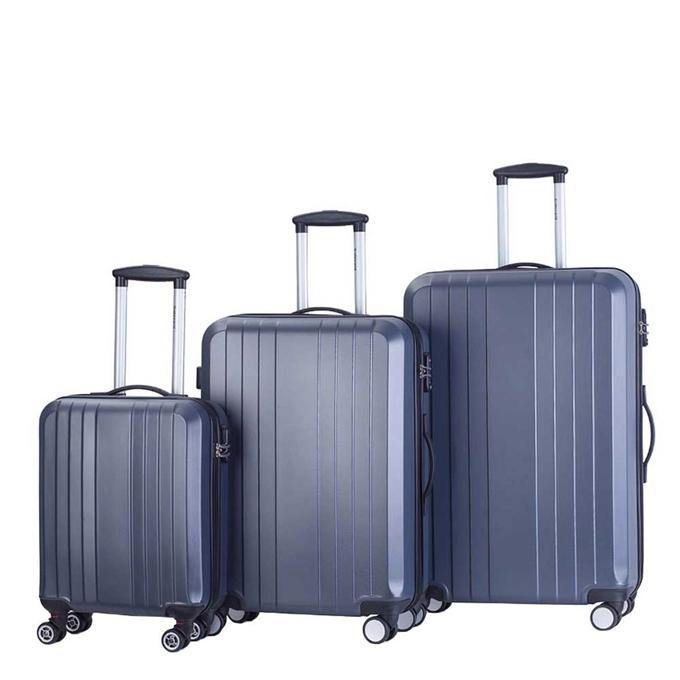 Decent Tobi Line 3-delige Kofferset antraciet - 1