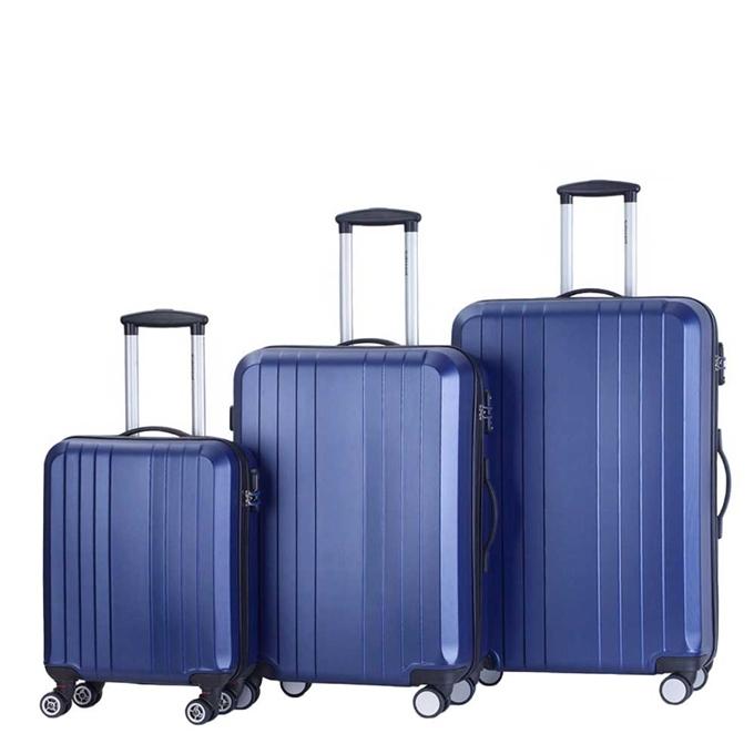 Decent Tobi Line 3-delige Kofferset d.blauw - 1