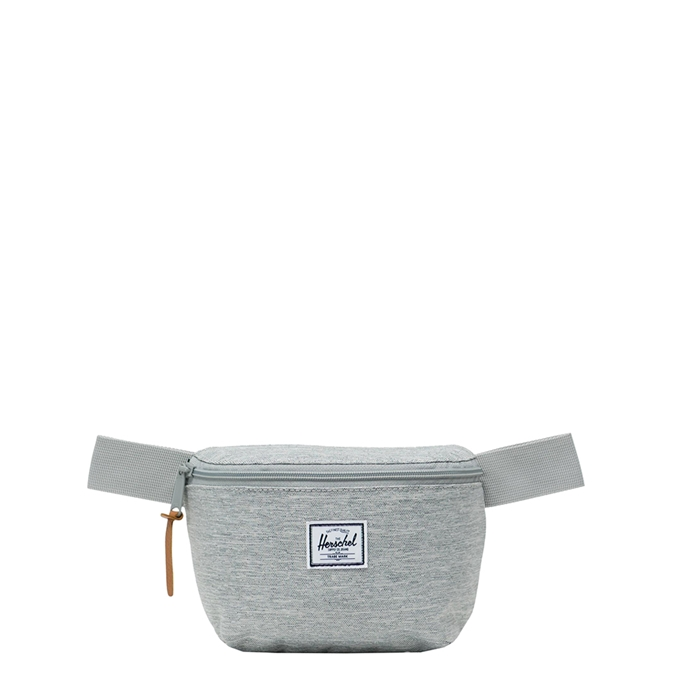 Herschel Supply Co. Fourteen Heuptas light grey crosshatch - 1