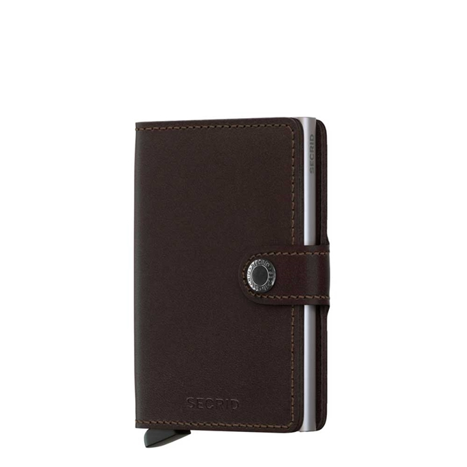 Secrid Miniwallet Portemonnee brown dark - 1
