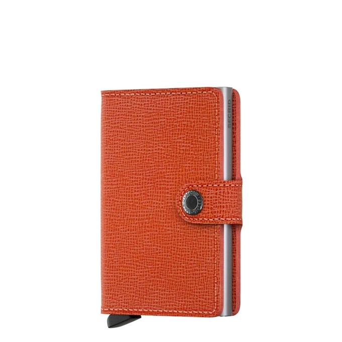 Secrid Miniwallet  Portemonnee crisple orange - 1