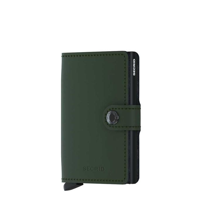 Secrid Miniwallet Portemonnee matte green / black - 1
