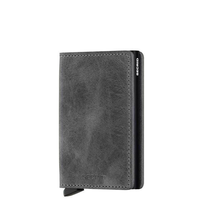 Secrid Slimwallet Portemonnee vintage grey / black - 1