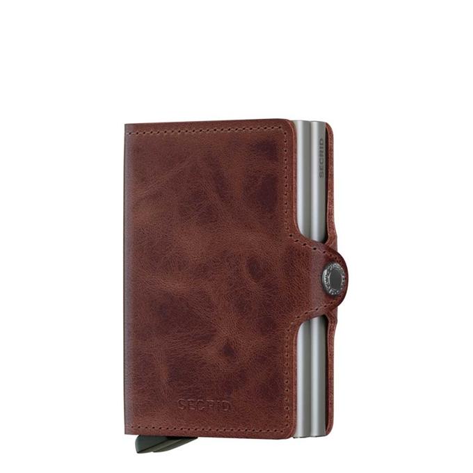 Secrid Twinwallet Portemonnee brown vintage leather