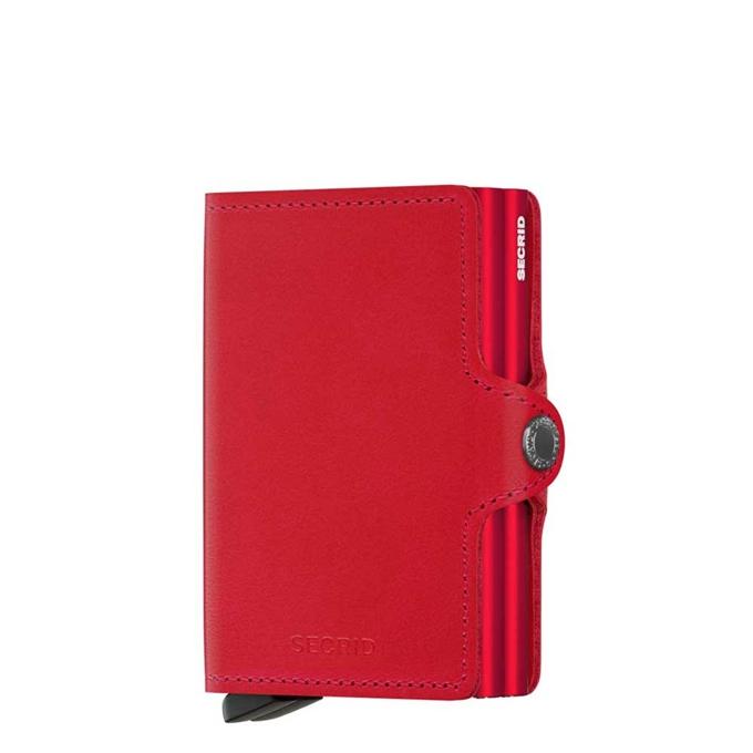 Secrid Twinwallet Portemonnee original red / red - 1