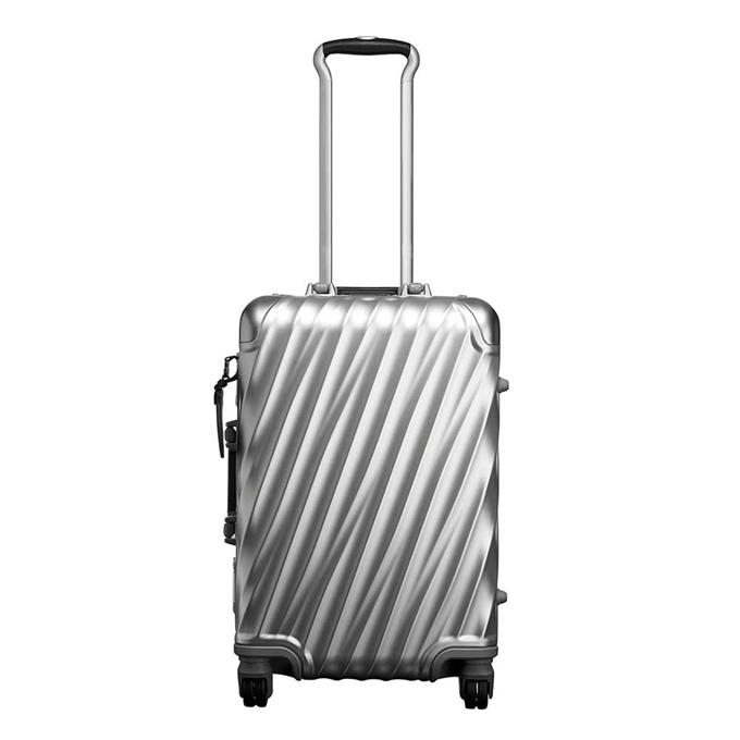 Tumi 19 Degree Aluminium International Carry-On silver