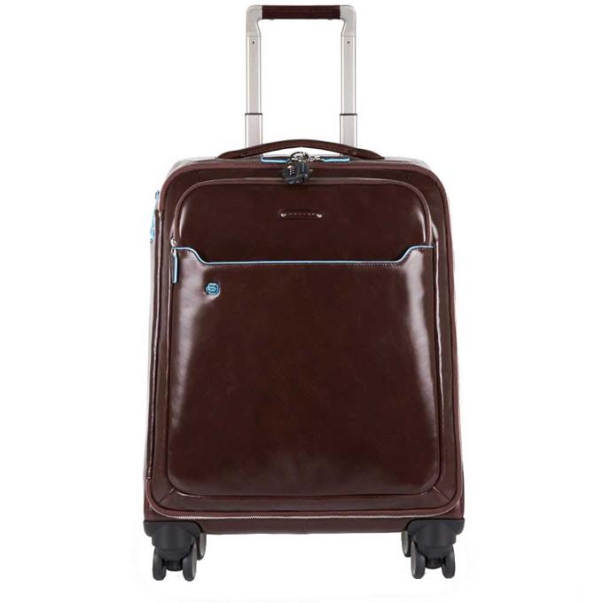 """Piquadro Blue Square Slim Cabin Trolley 15.6"""" mocca"""