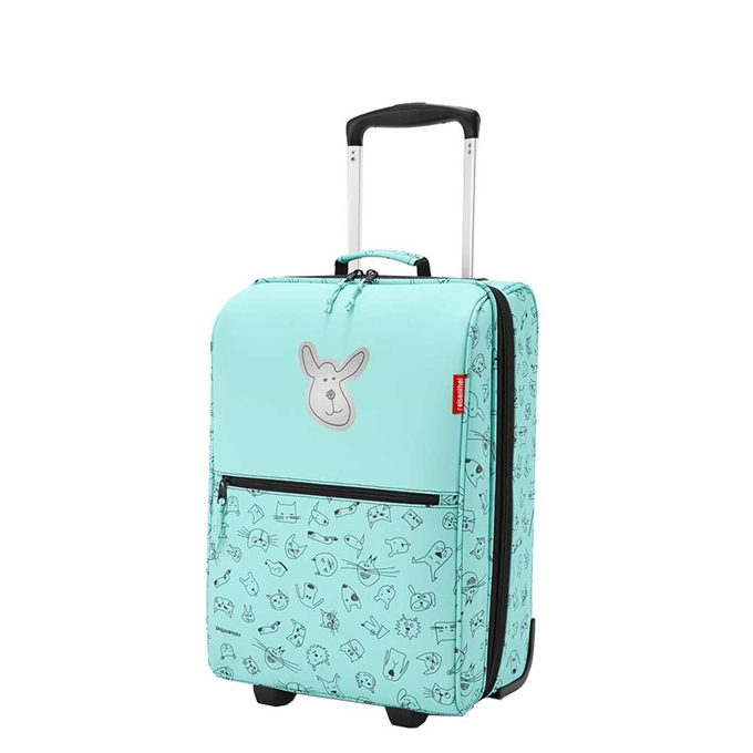 Reisenthel Kids Trolley XS Cats and Dogs mint - 1