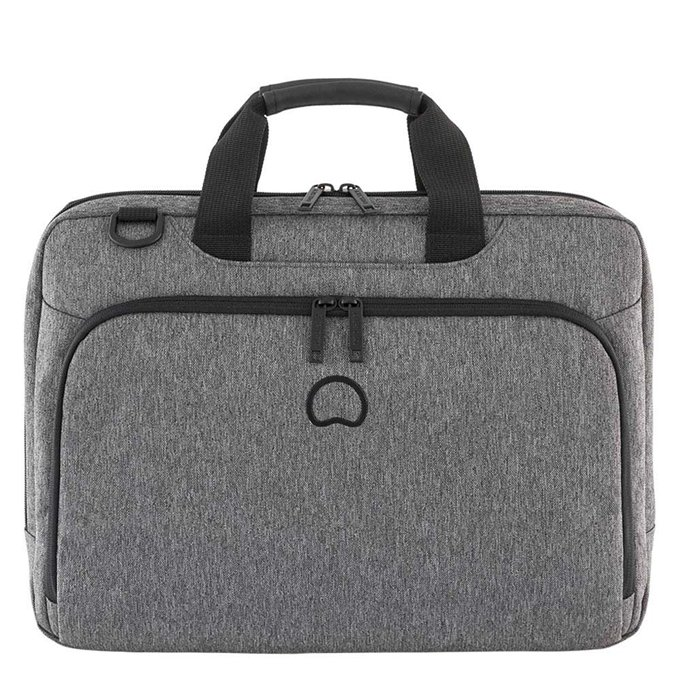 "Delsey Esplanade Two Compartments Laptop Bag 15.6"" anthracite - 1"