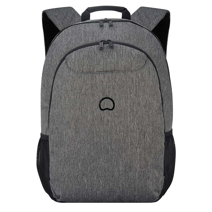 """Delsey Esplanade Two Compartment Laptop Backpack 17.3"""" antracite"""