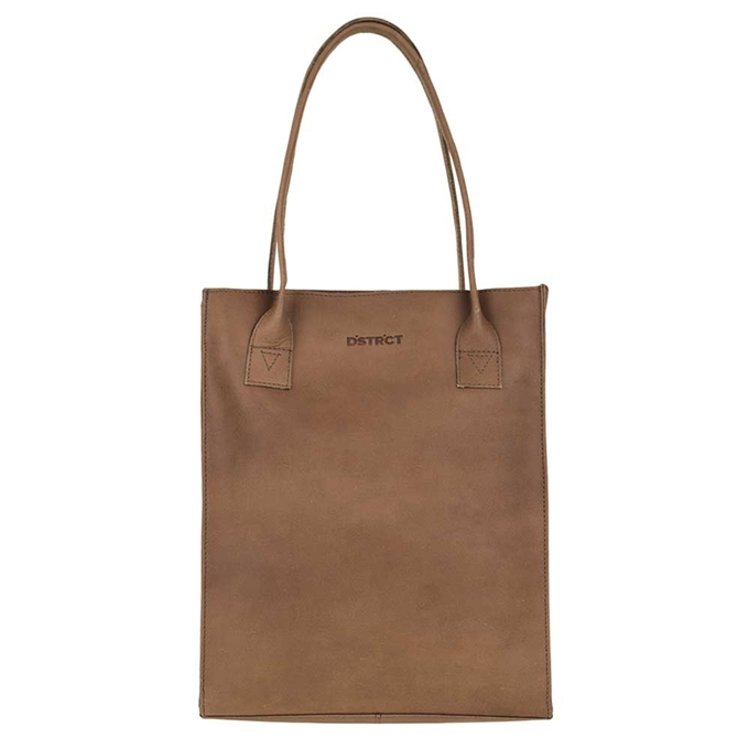 DSTRCT River Side Shopper 12'' brown - 1