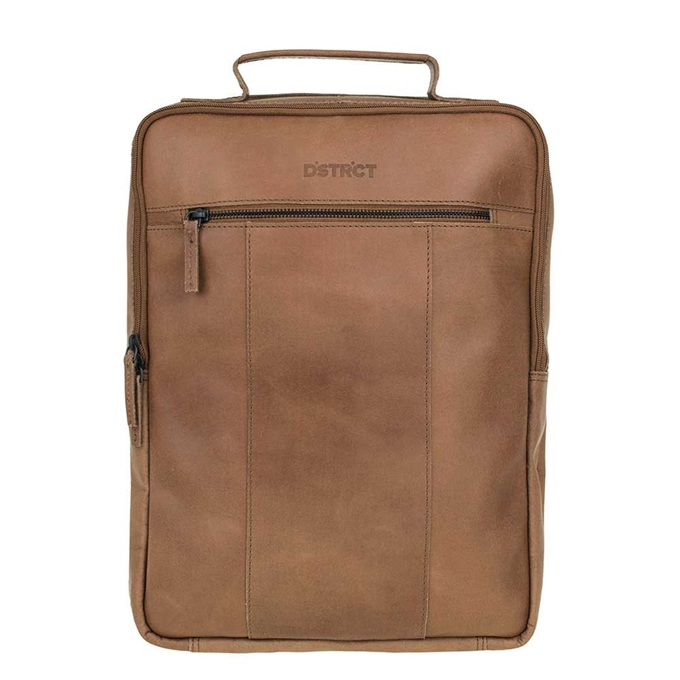 DSTRCT River Side Backpack 15'' brown