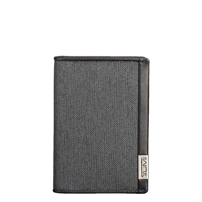 Tumi Alpha Multi Window Card Case anthracite / black