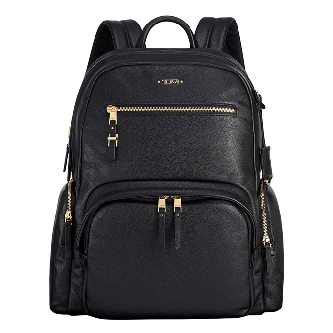 Tumi Voyageur Leather Carson Backpack black - 1