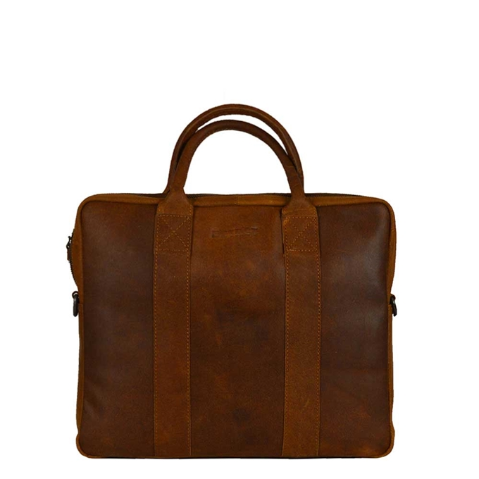 DSTRCT Main Street Workingbag 13.3'' cognac