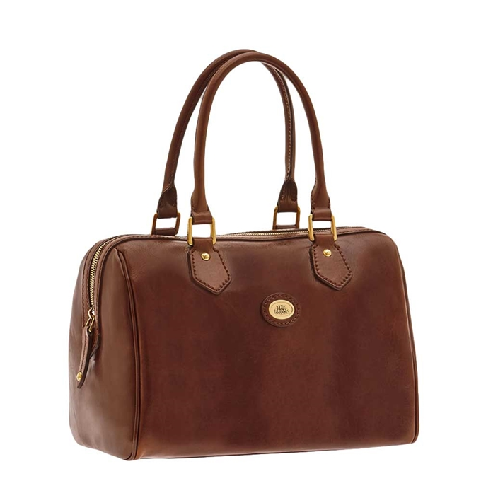 The Bridge Story Donna Ladies Barrel Handbag brown - 1