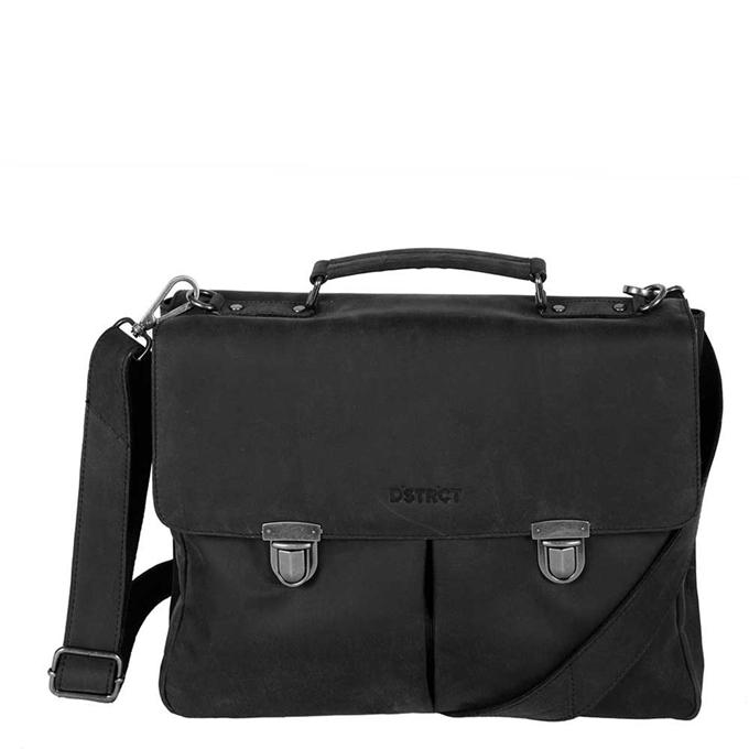 """DSTRCT Wall Street Workingbag 15"""" black2 - 1"""