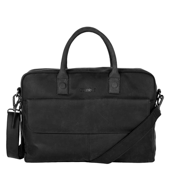 "DSTRCT Wall Street Workingbag 16"" black"