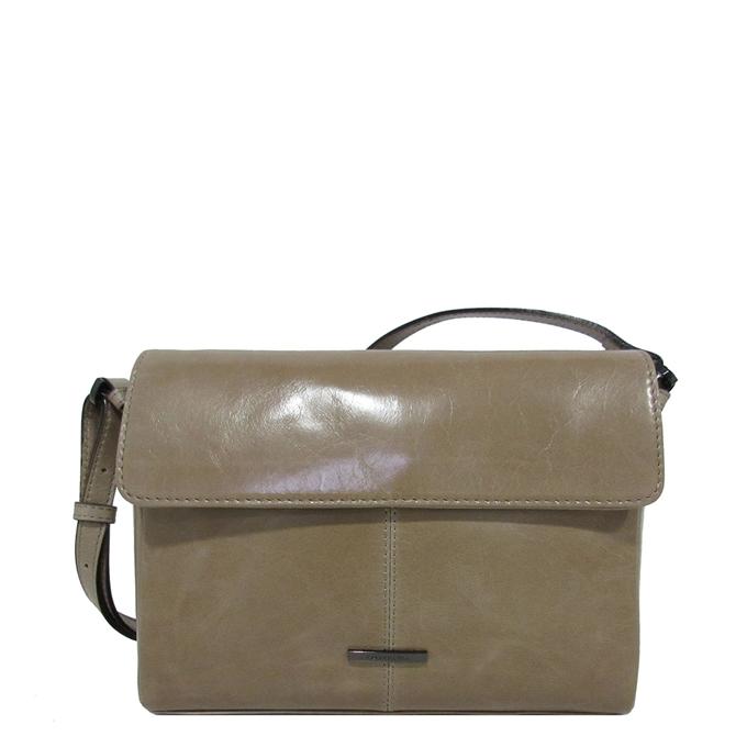 Claudio Ferrici Pelle Vecchia Shoulder Bag pale brown