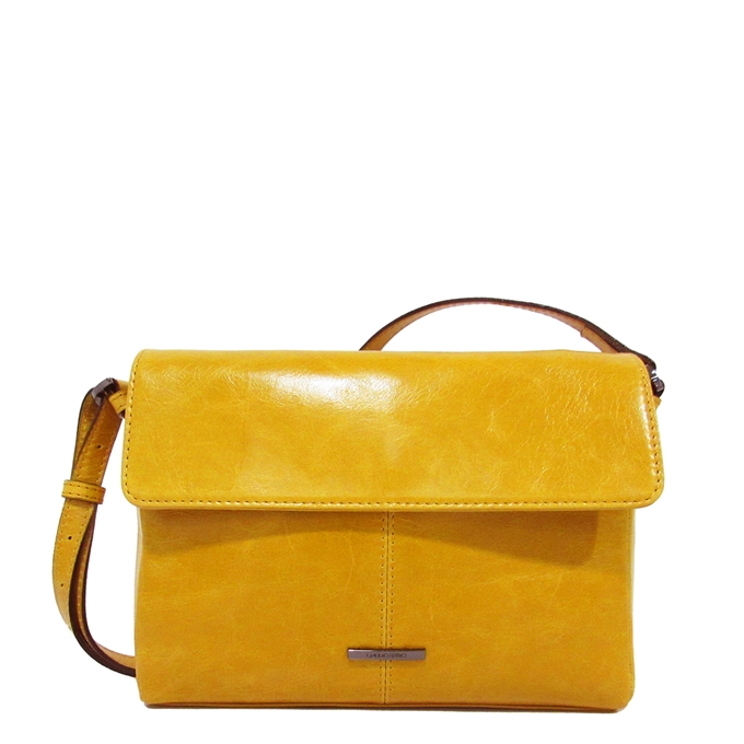 Claudio Ferrici Pelle Vecchia Shoulder Bag sunflower2