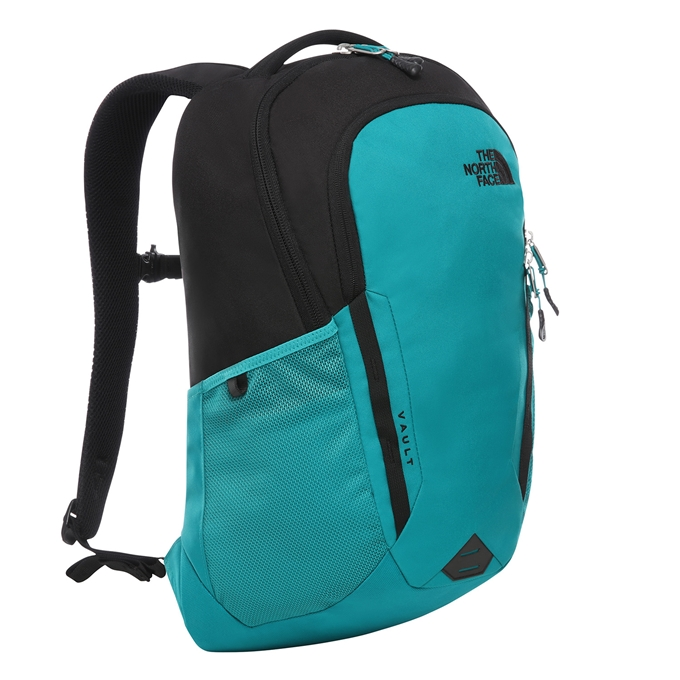 The North Face Vault Backpack fanfare green/tnf black