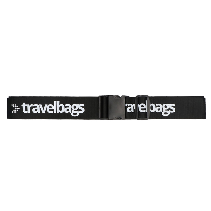 Travelbags Kofferriem zwart
