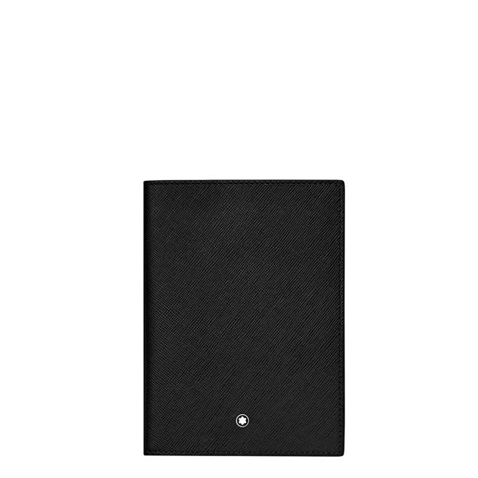 Montblanc Sartorial Leather Passport Holder black