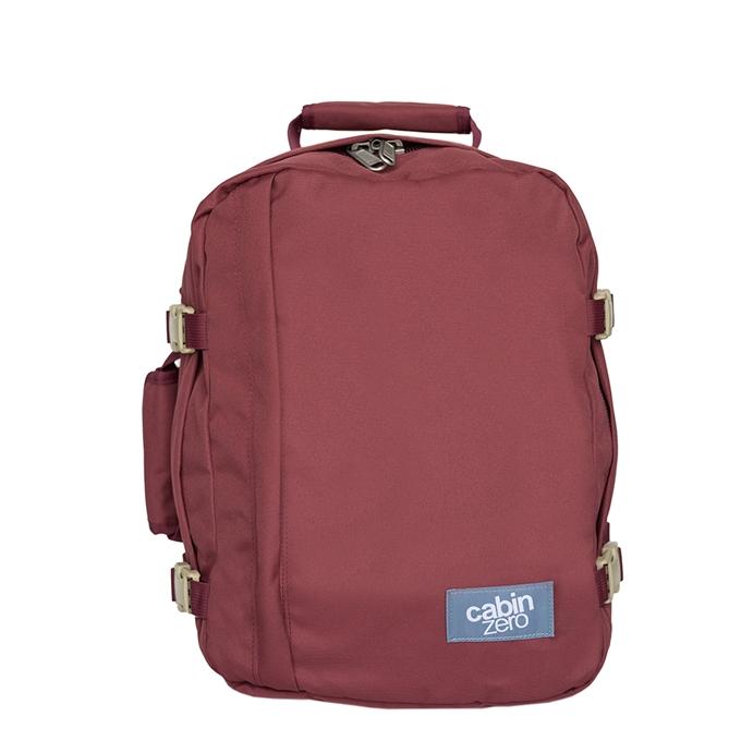 CabinZero Classic 28L Cabin Backpack napa wine