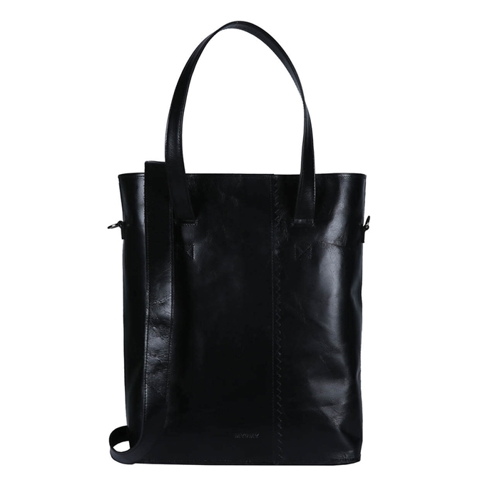 Myomy Paper Bag Wrapped Office hunter waxy black