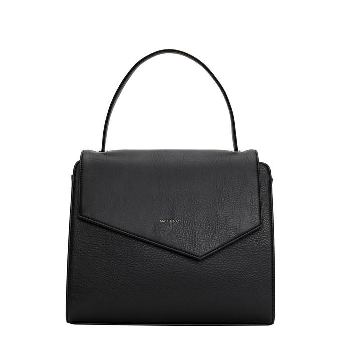 Matt & Nat Dwell Minji Satchel Bag black