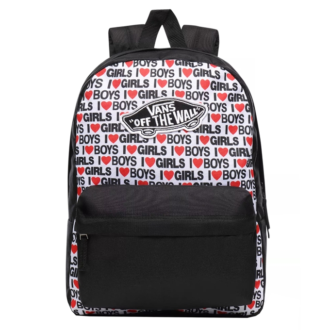Vans Realm Backpack i heart boys girls
