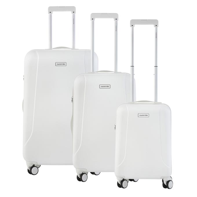 CarryOn Skyhopper Trolleyset 3pcs TSA white - 1