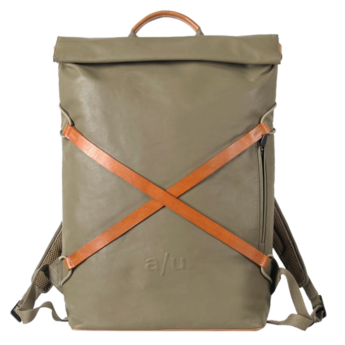 """Aunts & Uncles Japan Osaka Backpack with Notebook Compartment 15"""" fallen rock"""