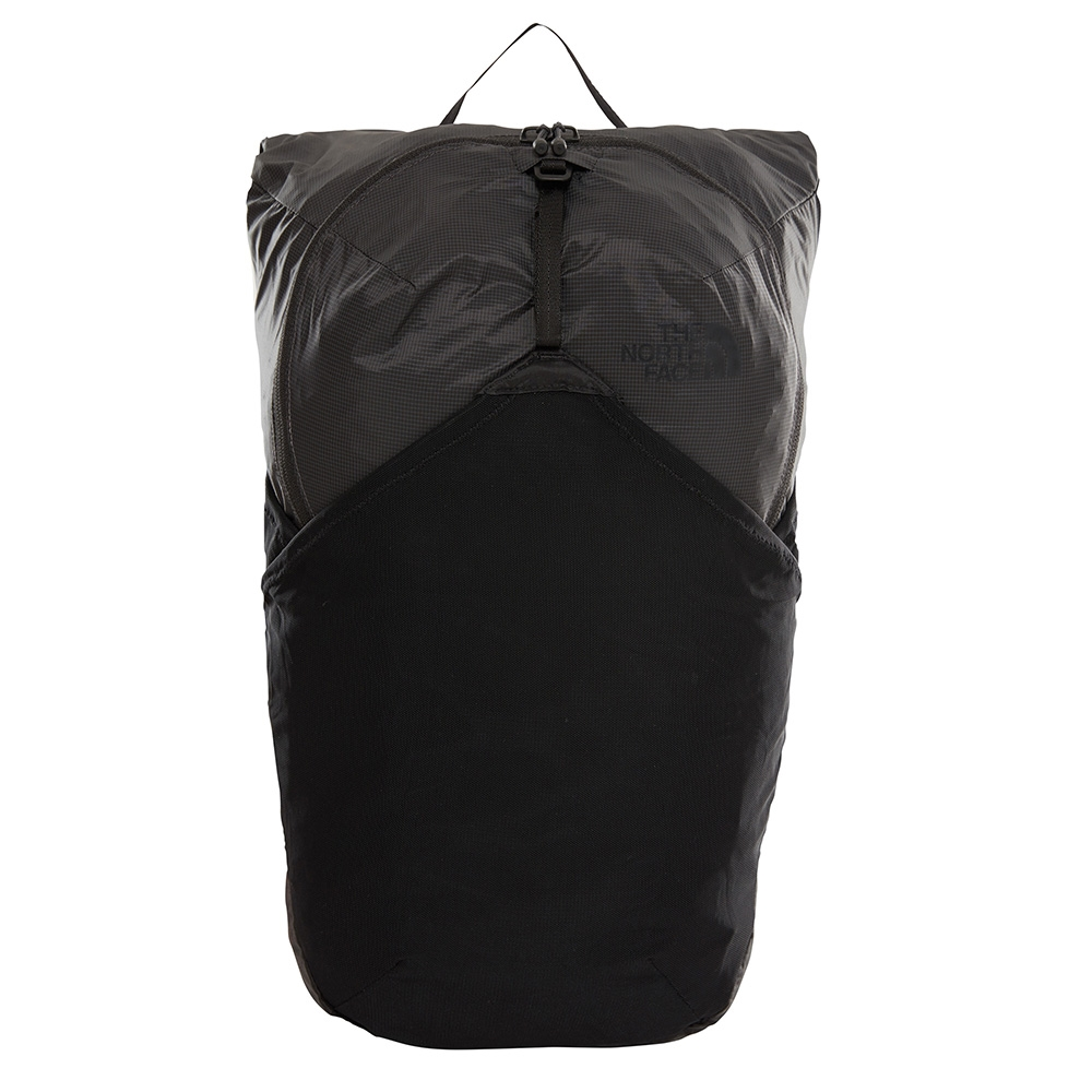 The North Face Flyweight Pack asphalt grey / tnf black backpack