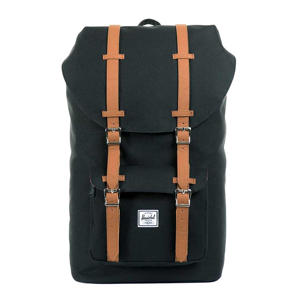 Herschel Little America Black-Tan PU