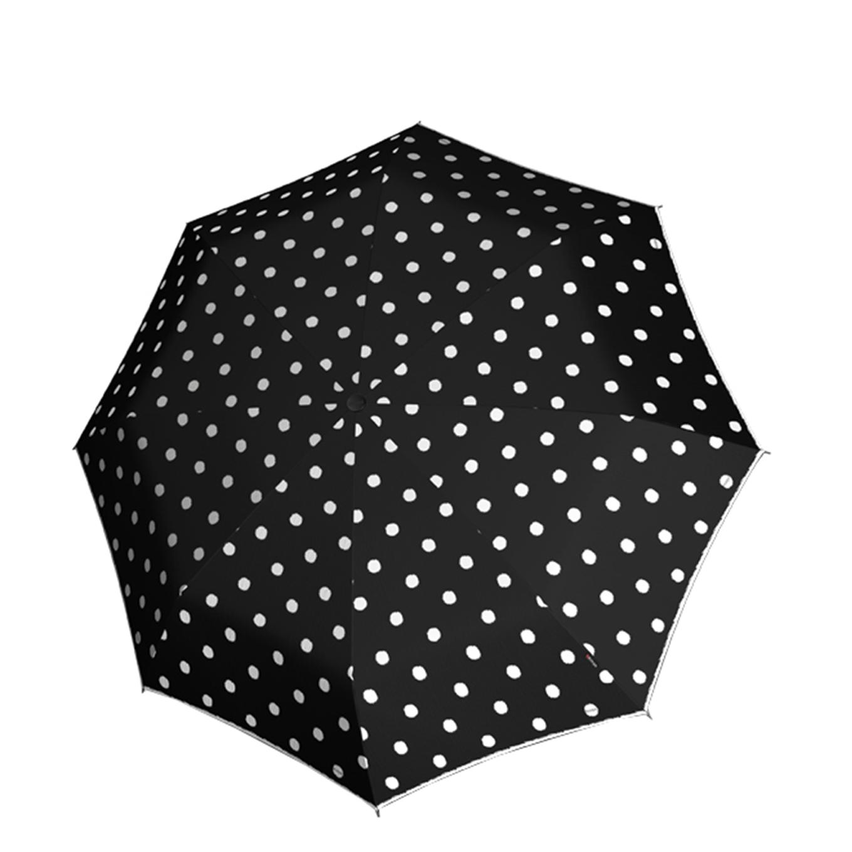 Knirps T-010 Small Manual Paraplu dot art black (Storm) Paraplu