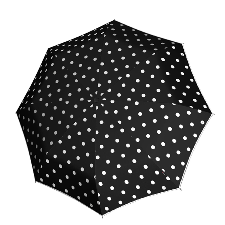 Knirps T-200 Medium Duomatic Paraplu dot art black (Storm) Paraplu