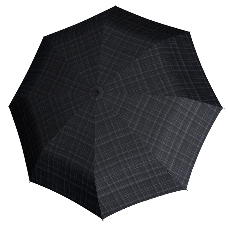 Knirps T-400 Duomatic XL Paraplu gents print stripes (Storm) Paraplu