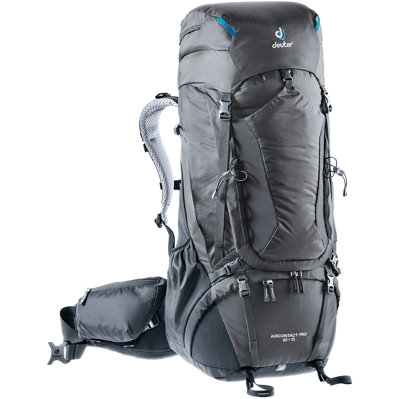 Deuter Aircontact Pro 60 + 15 graphite/black backpack <br/></noscript><img class=