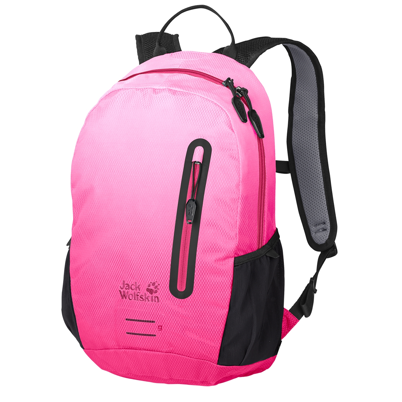 Jack Wolfskin Halo 12 Pack aurora pink backpack