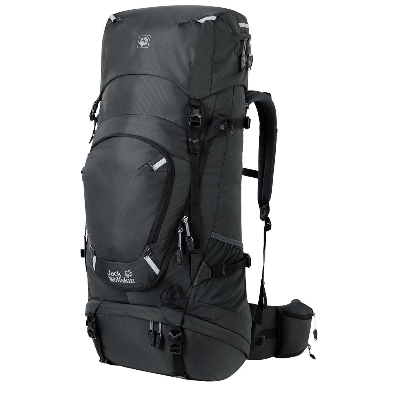 Jack Wolfskin Highland Trail 55 Men phantom backpack <br/>€ 199.95 <br/> <a href='https://tc.tradetracker.net/?c=15082&m=779702&a=107398&u=http%3A%2F%2Fwww.travelbags.nl%3A80%2Fjack-wolfskin-highland-trail-55-men-phantom.html' target='_blank'>Bestellen</a>