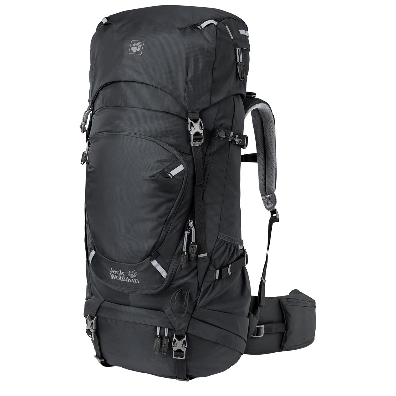Jack Wolfskin Highland Trail 50 Trekkingsrugzak Donkergrijs