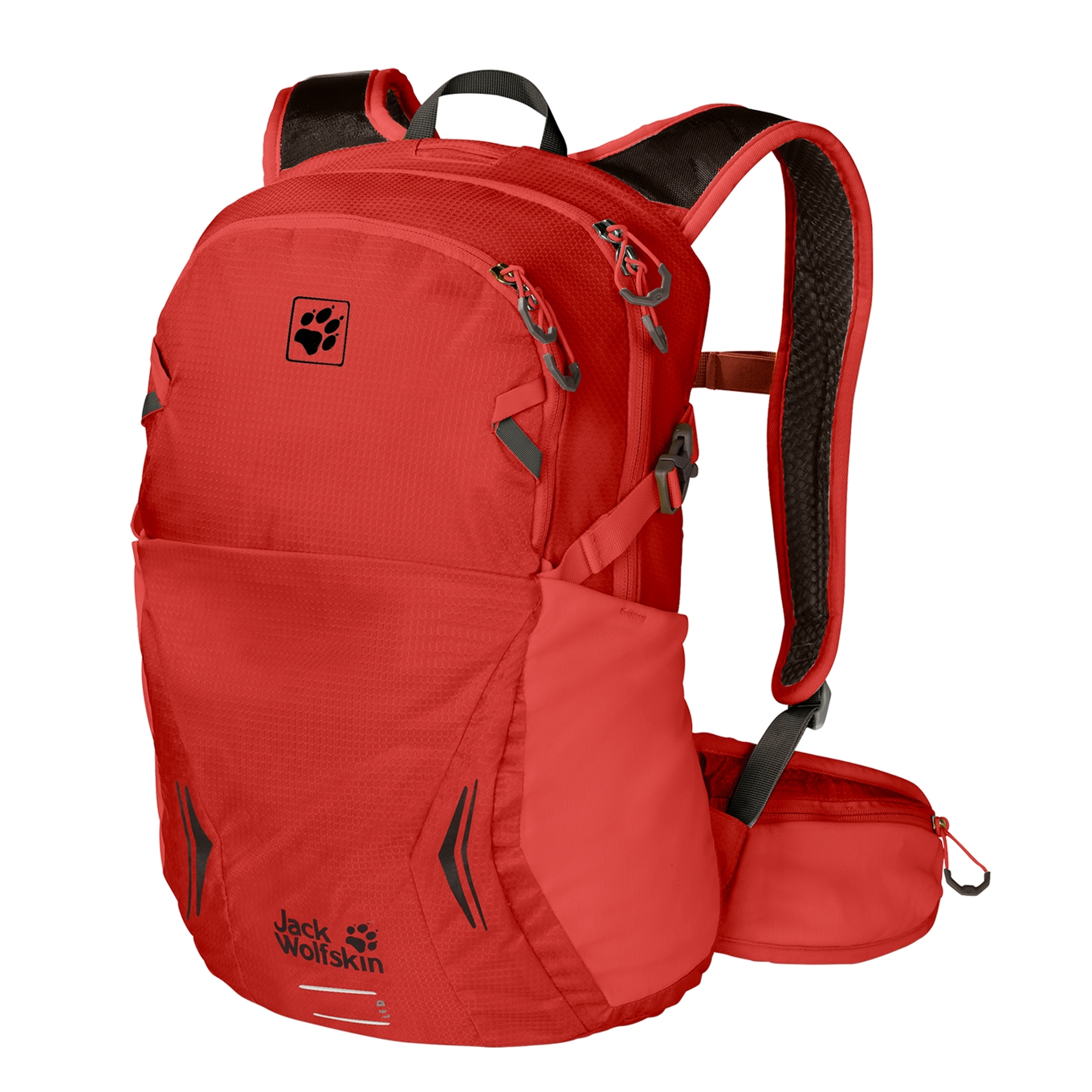Jack Wolfskin Moab Jam 18 lava red backpack