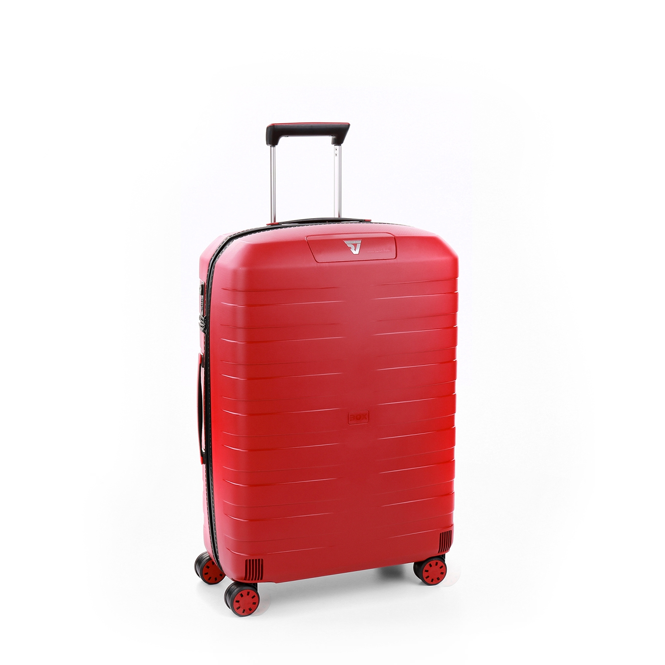Roncato Box 4.0 Medium 4 Wiel Trolley 69 rosso Harde Koffer <br/></noscript><img class=